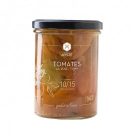 Tomates / Ail rosé / Thym