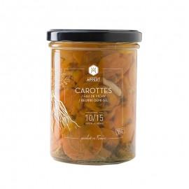 Carotte / Eau de Vichy / Beurre demi-sel