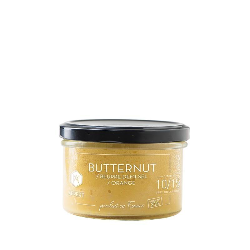 Conserve gastronomique butternut beurre orange fait for Cuisinier sel