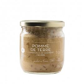 Pommes de terre / Beurre / Andouille de Guémené