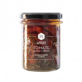 TOMATE / BASILIC /ORIGAN  séchée & marinée à l'huile