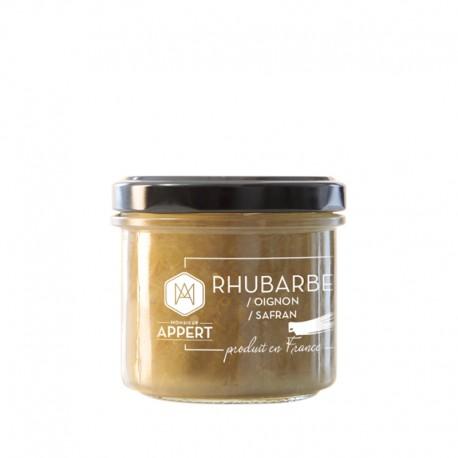 RHUBARBE /OIGNON /SAFRAN  chutney