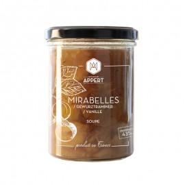 MIRABELLES / GEWURZTRAMINER / VANILLE   -  Soupe dessert