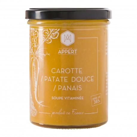 CAROTTES / PATATES DOUCES / PANAIS - SOUPE VITAMINEE